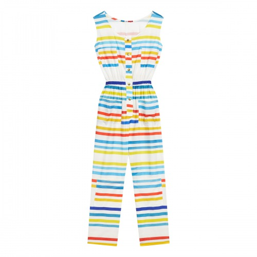Combinaison en Coton Hot Stripes
