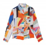 Abstract Funk Linen