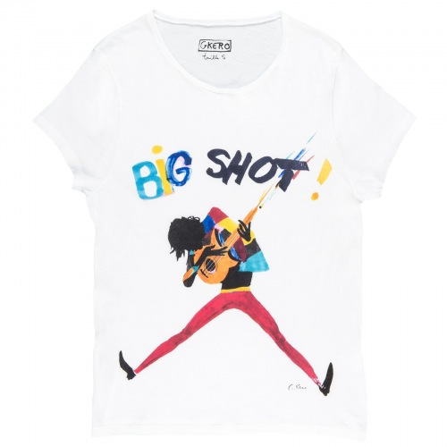T shirt imprimée Big Shot