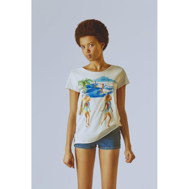 T shirt Imprimée Californie
