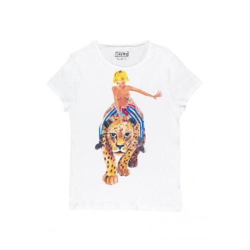 T shirt imprimée Chevauchée