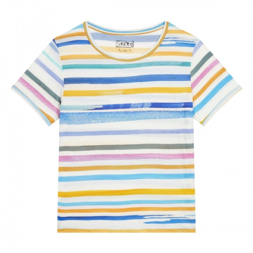 T shirt Imprimée  Stripes