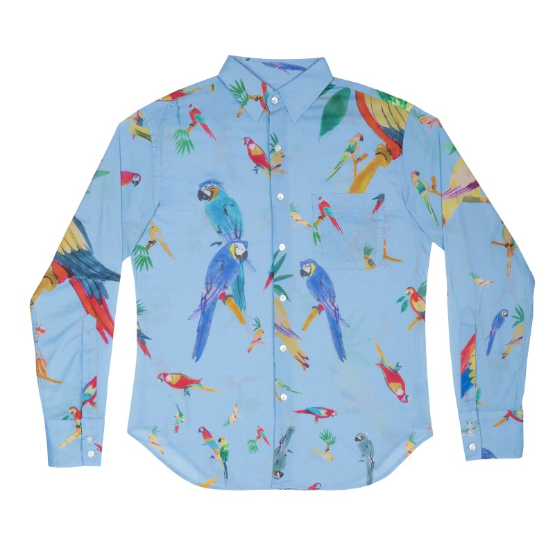 Grands Perroquets Bleus