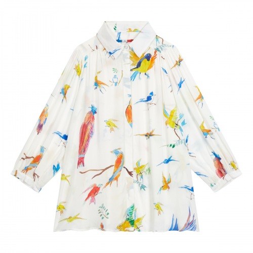 Blouse en viscose Flying Birds