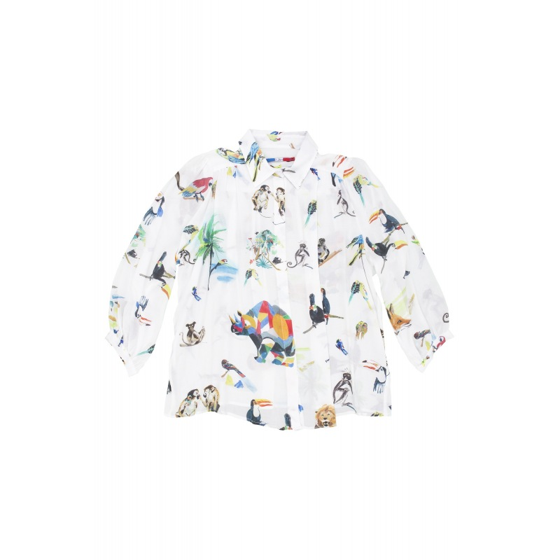 Blouse en viscose Free Animals